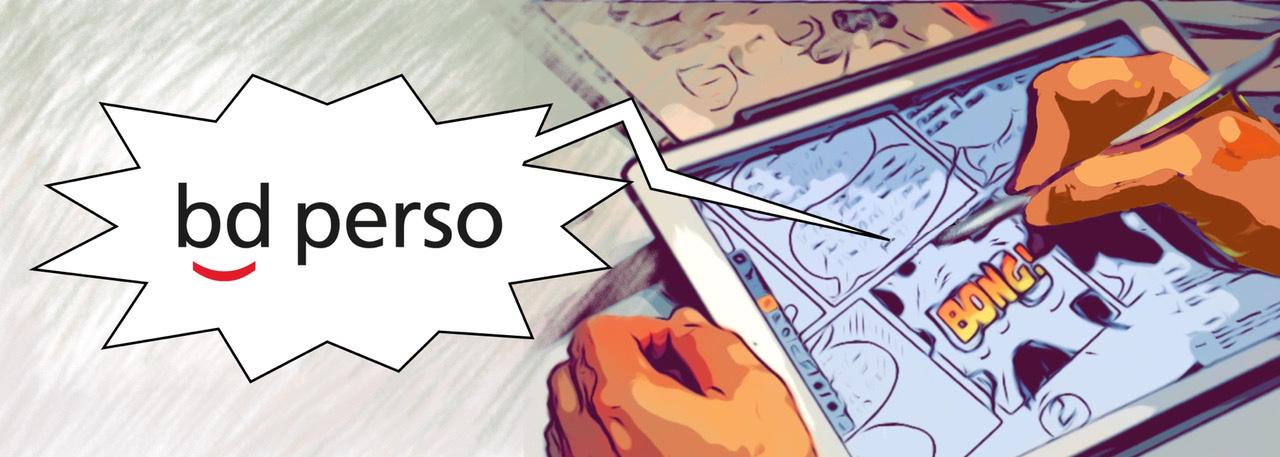BD PERSO, un service personnalisé de création de Bande Dessinée