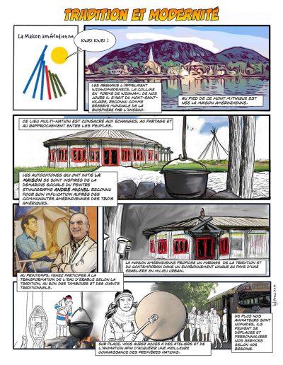 Résumé de la mission et des activités de la Maison amérindienne au Mont-StHilaire