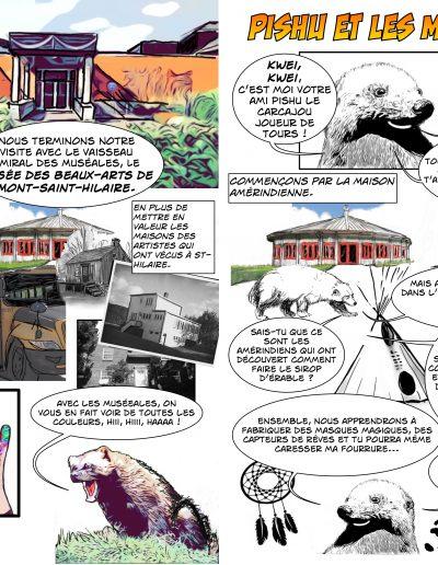 La Mascotte PISHU, matériel pédagogique (QUÉBEC) 2020